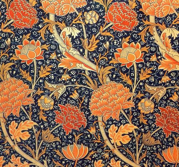 William Morris Painting - Cray Pattern by William Morris
