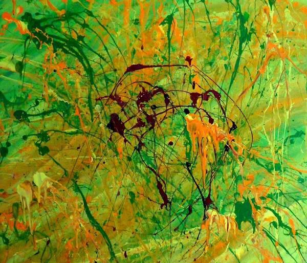 Painting - Crevec by Cyryn Fyrcyd