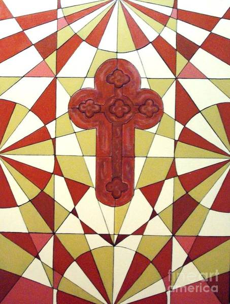 Painting - Cross by Jeanie Watson