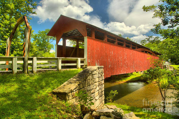 Wall Art - Photograph - Crossing Over The Juniata River by Adam Jewell