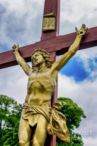 Wall Art - Photograph - Crucifixion Of Jesus by Adrian Evans