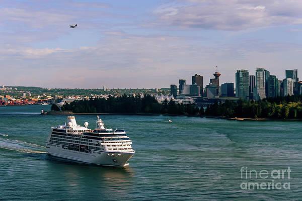 Canada Wall Art - Photograph - Cruise Ship 5 by Viktor Birkus