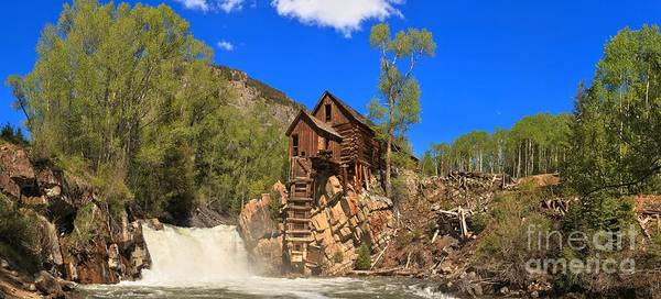 Photograph - Crystal Colorado Historic Mill by Adam Jewell