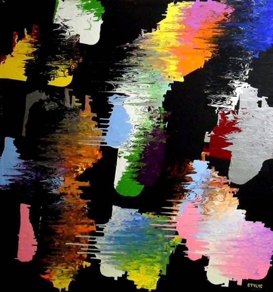 Painting - Ctylyc by Cyryn Fyrcyd