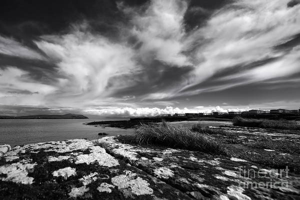 Mono Photograph - Cuan, Ireland by Smart Aviation