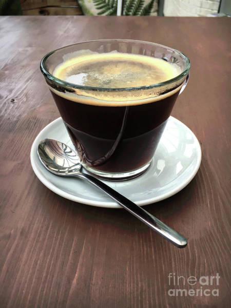 Wall Art - Photograph - Cup Of Coffee by Tom Gowanlock