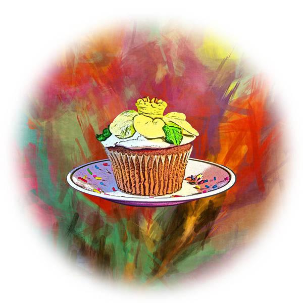 Shotwell Digital Art - Cupcake Crazy by Ken Shotwell