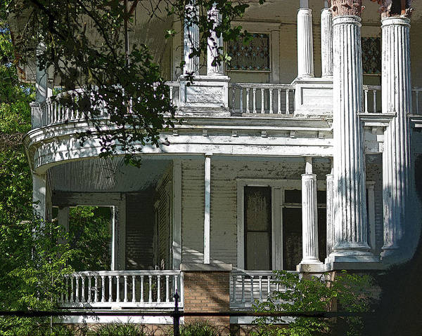 Photograph - Curved Porches In Color by Connie Fox