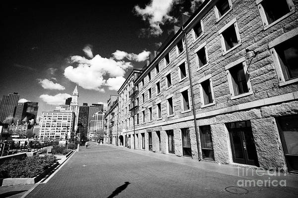 Wall Art - Photograph - custom house block long wharf Boston USA by Joe Fox