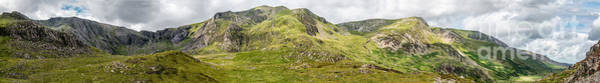 Photograph - Cwm Idwal Panorama by Adrian Evans