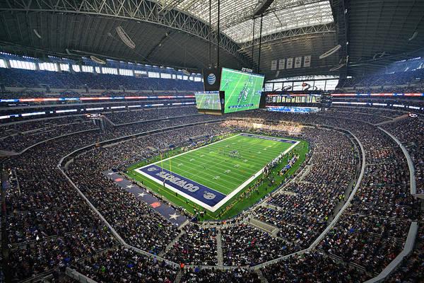 Dallas Cowboys Att Stadium Art Print