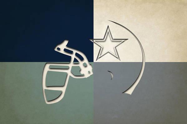 Dallas Cowboys Photograph - Dallas Cowboys Helmet by Joe Hamilton