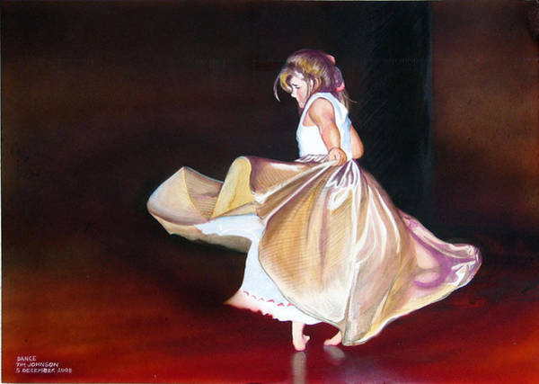 Painting - Dance by Tim Johnson