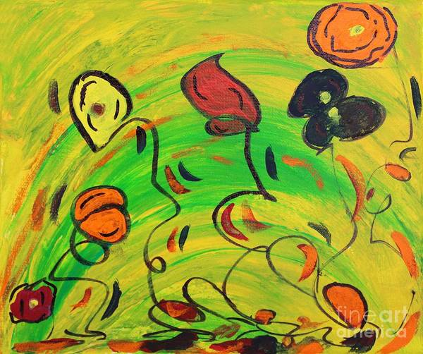 Painting - Dancing In The Sun by Sarahleah Hankes