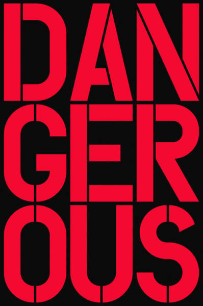 Wall Art - Painting - Dangerous by Three Dots