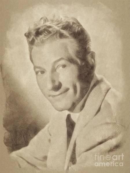 Pinewood Drawing - Danny Kaye, Hollywood Legend By John Springfield by John Springfield