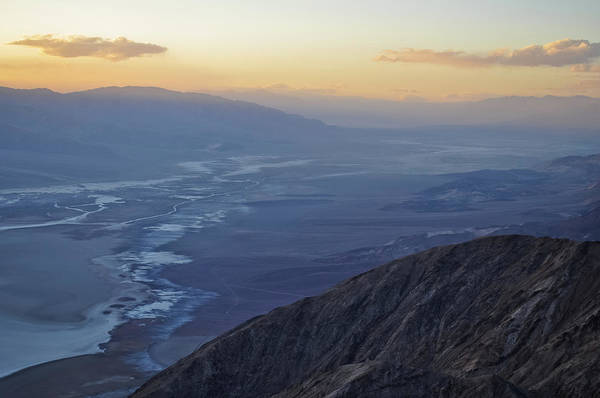 Photograph - Death Valley Dante's View Sunset by Kyle Hanson