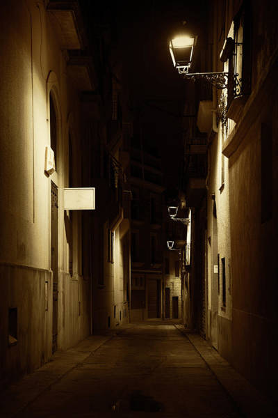 Wall Art - Photograph - Dark Street by Svetlana Sewell