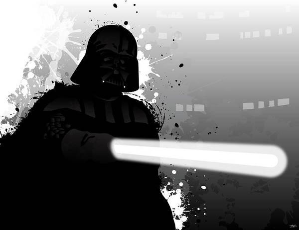 Wall Art - Digital Art - Darth Vader by Nathan Shegrud