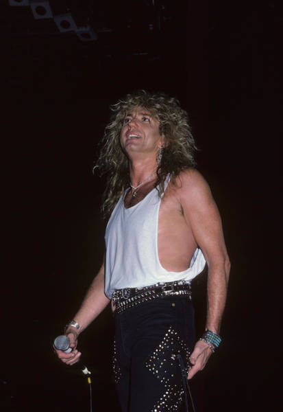 Photograph - David Coverdale Of Whitesnake by Rich Fuscia