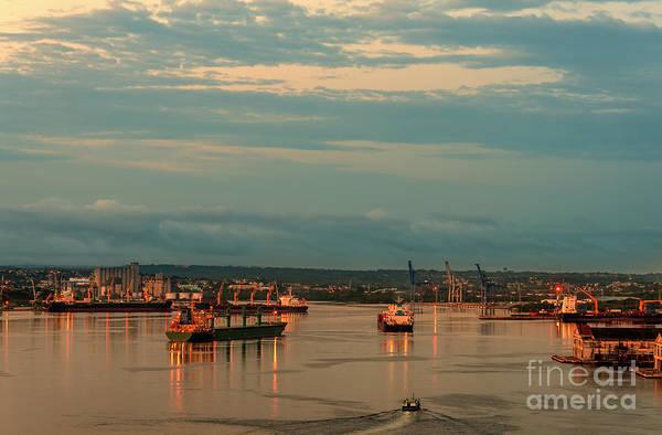 Wall Art - Photograph - Dawn In The Seaport by Viktor Birkus