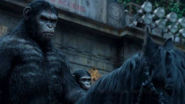 Animal Digital Art - Dawn Of The Planet Of The Apes by Super Lovely