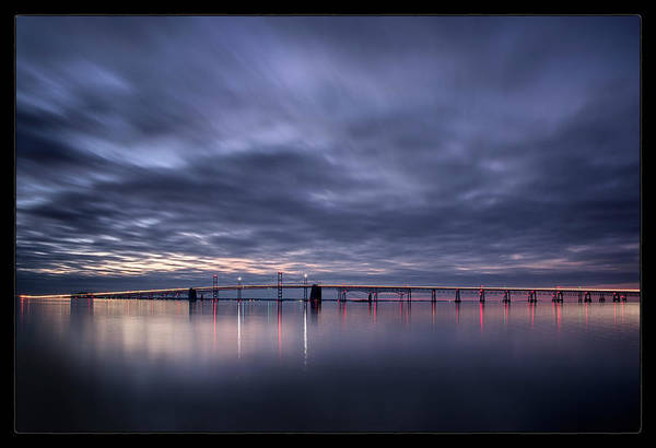 Chesapeake Bay Photograph - Dawn On The Chesapeake by Robert Fawcett