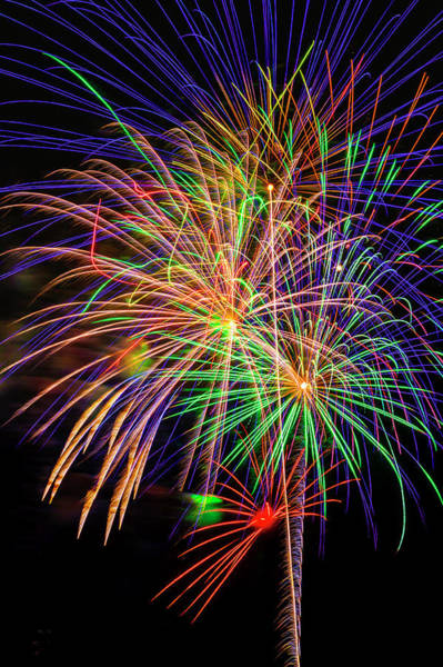Dazzle Wall Art - Photograph - Dazzling Fireworks by Garry Gay