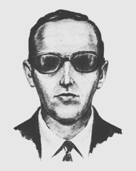 Historian Drawing - D.b. Cooper by War Is Hell Store