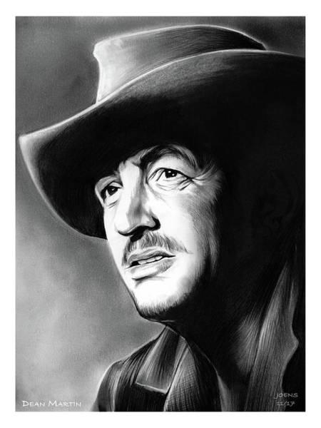 American Film Wall Art - Drawing - Dean Martin by Greg Joens
