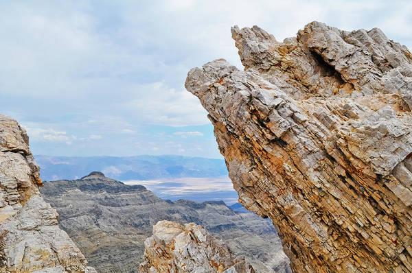 Photograph - Aguereberry Point Death Valley Vista by Kyle Hanson