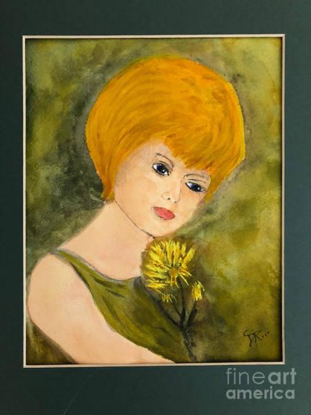 Painting - Debbie by Donald Paczynski