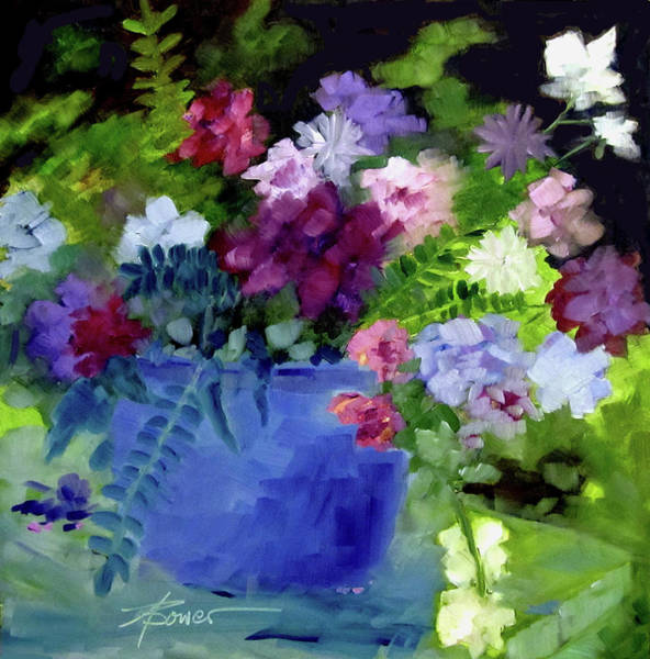 Painting - December Blue by Adele Bower