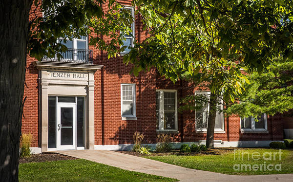 Photograph - Defiance College Tenzer Hall by Michael Arend