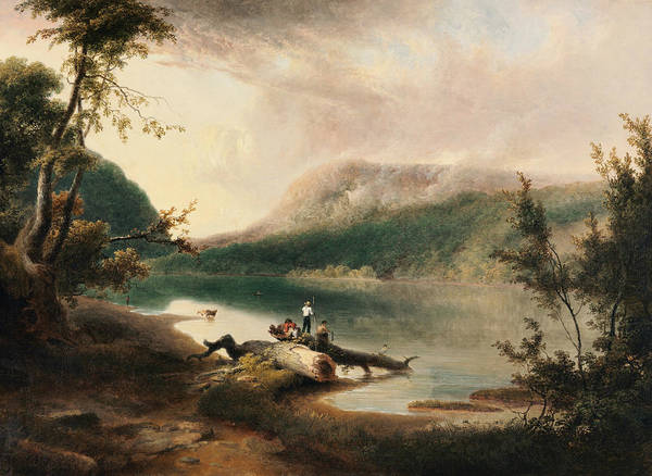Delaware Painting - Delaware Water Gap by Thomas Doughty