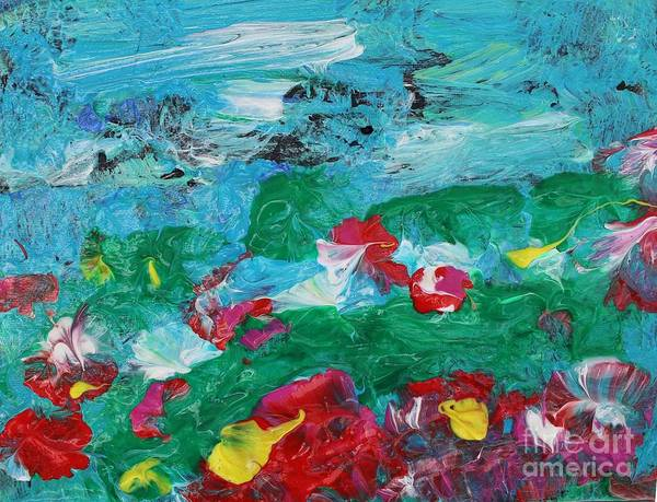 Painting - Delight by Sarahleah Hankes