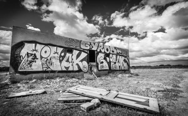 Photograph - Derelict Building. by Gary Gillette