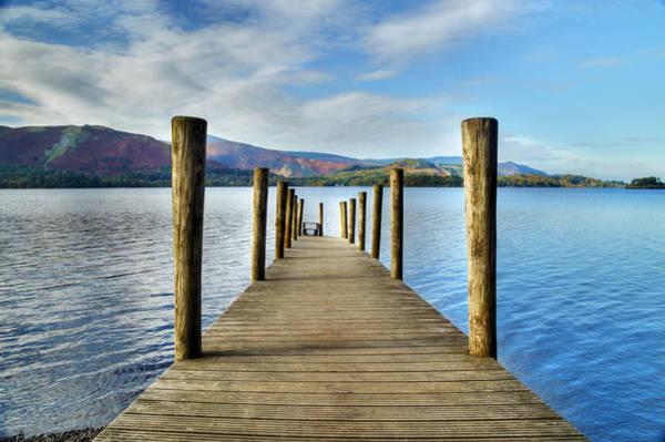 Photograph - Derwent Water Pier by Sarah Couzens