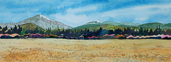 Painting - Deschutes River View by Terry Holliday