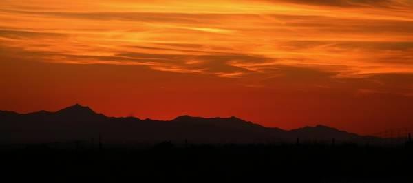Photograph - Desert Sunset by Christy Pooschke