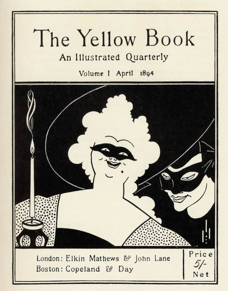 Wall Art - Drawing - Design By Aubrey Vincent Beardsley 1872 by Vintage Design Pics