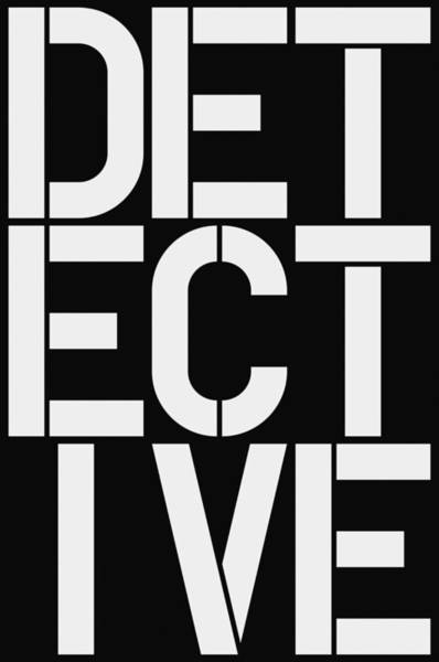 Wall Art - Painting - Detective by Three Dots