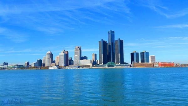 Michigan Wall Art - Photograph - Detroit  by Michael Rucker
