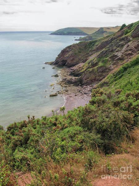 Bristol Channel Photograph - Devon Coastal View by Patricia Hofmeester