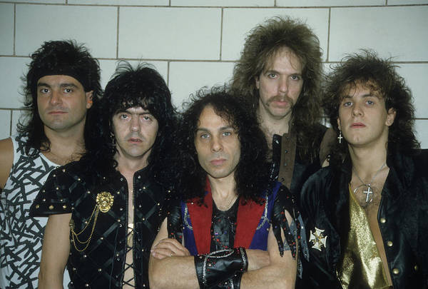 Photograph - Dio Backstage At The Spectrum by Rich Fuscia
