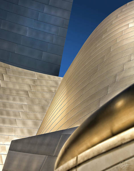 Photograph - Disney Hall Abstract 2 by Endre Balogh