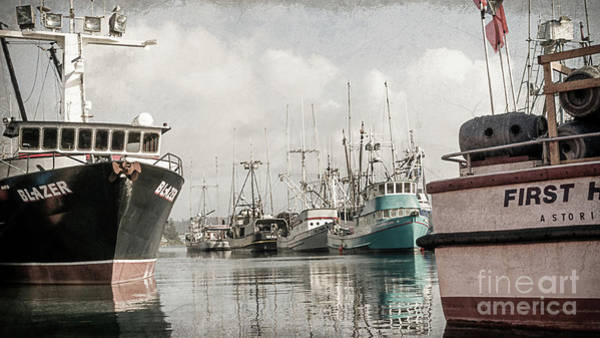 West Bay Digital Art - Docked At The Bay by Mellissa Ray
