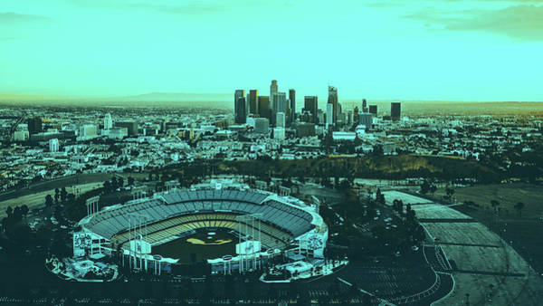 Wall Art - Photograph - Dodger Stadium And Los Angeles Skyline by Unsplash