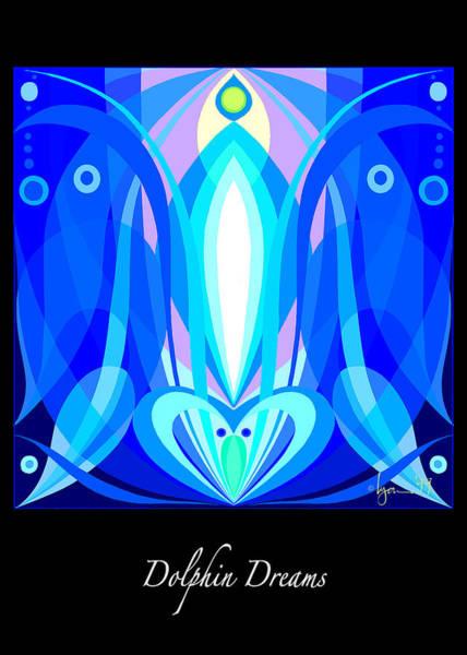 Painting - Dolphin Dreams by Angela Treat Lyon