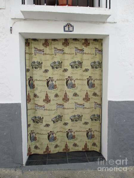 Photograph - Door In Portugos by Chani Demuijlder